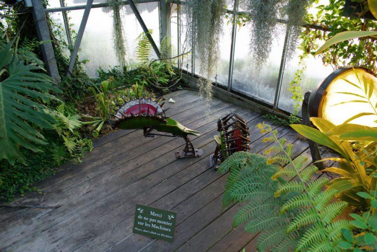 Plantes carnivores mécanique