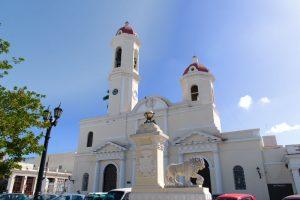 Une des églises de Cienfuegos à Cuba