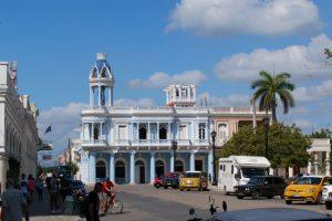 La Casa de Cultura de Cienfuegos à Cuba