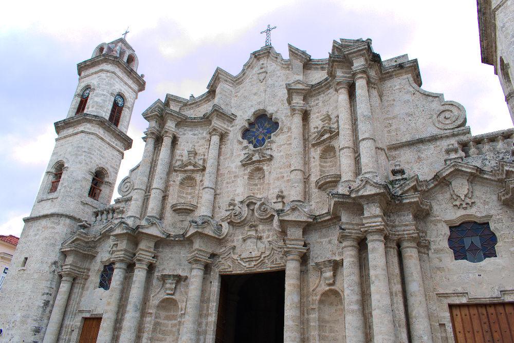 Cathédrale San Cristobal de La Havane a Cuba