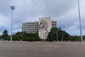 Hommage Che Guevara sur la Plaza de la Revolucion de La Havane à Cuba