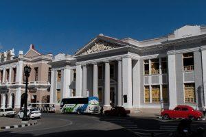 Un des collèges de Cienfuegos à Cuba