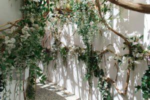 Un couloir fleuri dans les Jardins de Chaumont