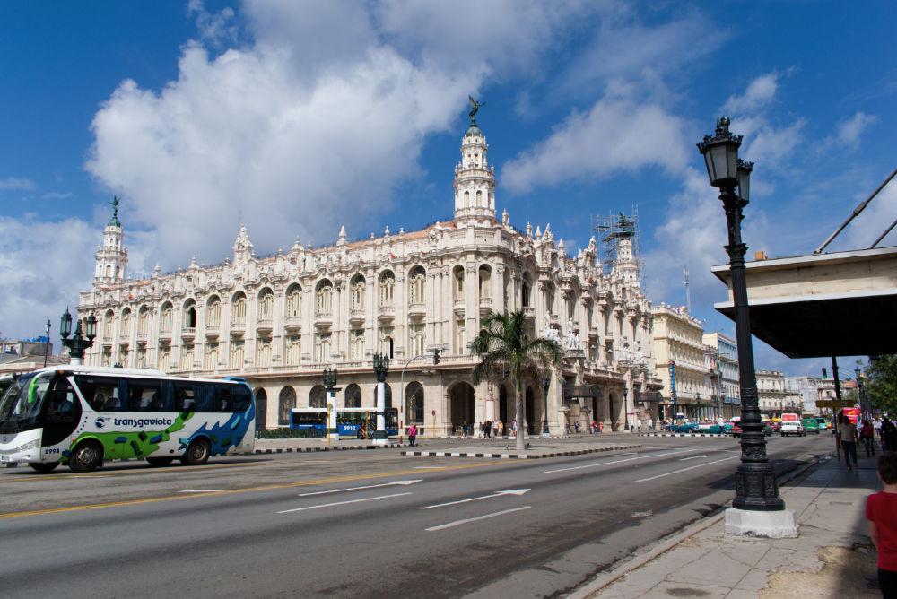 Grand théâtre de La Havane à Cuba