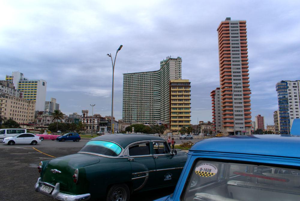 Immeubles des 7 merveilles de l'ingénierie Cubaine de La Havane à Cuba