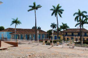 Plazza Mayor de Trinidad à Cuba