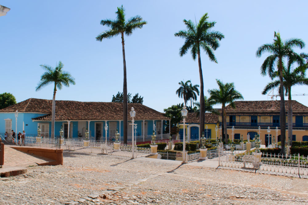 Plazza Mayor de Trinidad à Cuba