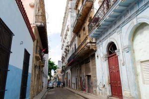 Rue de la vieille ville de La Havane
