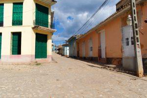 Rue de Trinidad à Cuba