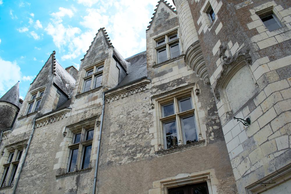 Façade intérieur du château de Montrésor
