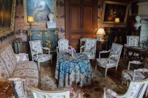 Un des salons du château de Montrésor