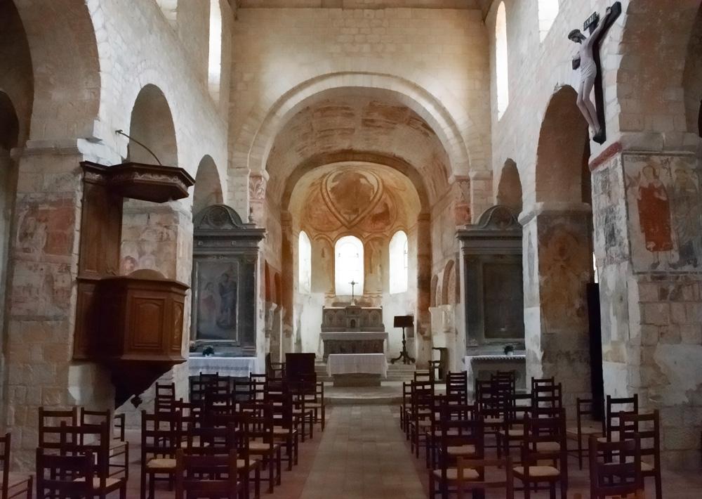 Église de Saint Genest à Lavardin dans le Loir et Cher